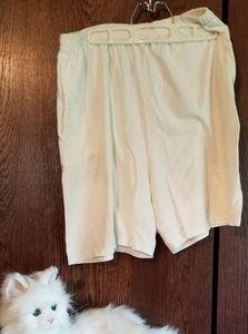 JMS White shorts